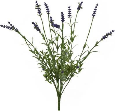 Цветок искусственный Лаванда букет 12 головок 38см Floralsilk 12303LV