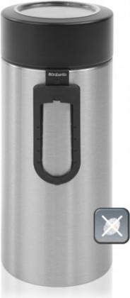 Контейнер с прозрачной крышкой и мерной ложкой 2.2л матовая сталь Brabantia 423666