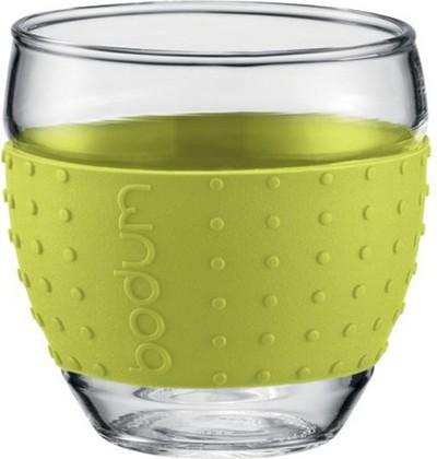 Бокалы Pavina, 2 шт. по 0,35л, лимонные, 11185-565