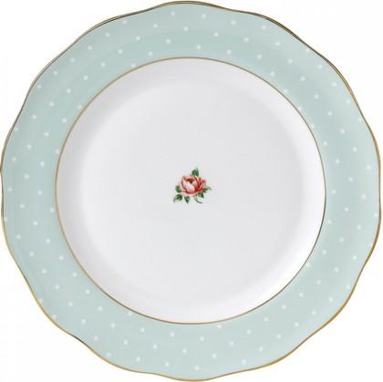 Тарелка обеденная Полька Роуз, 27 см Royal Albert POLROS25812