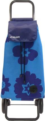Сумка-тележка хозяйственная синяя Rolser LOGIC RG PAC089azul