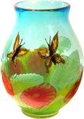 Ваза Порхающие цветы 35см Top Art Studio ZB1993-TA