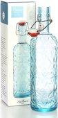 Бутылка с герметичной крышкой 1л, синяя Prezioso Luigi Bormioli 11595/01