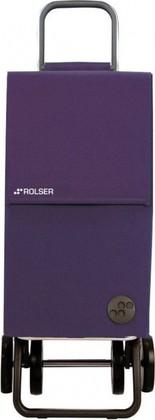 Сумка-тележка хозяйственная фиолетовая Rolser DOS+2 PARIS PAR005more