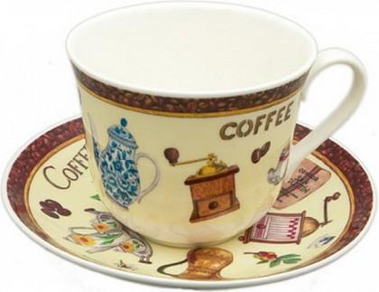 """Чайная пара """"Кофе"""" Roy Kirkham XCOF1100"""