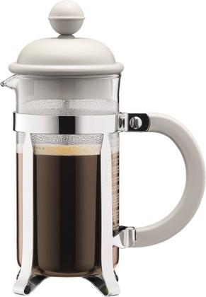 Кофейник с френч-прессом 0.35л, белый Bodum CAFFETTIERA 1913-913