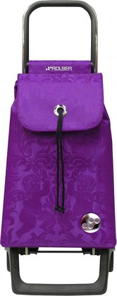 Сумка-тележка хозяйственная компактная фиолетовая Rolser JOY-1800 BABY BAB008malva