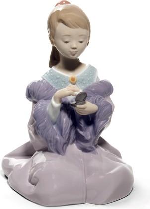 Статуэтка фарфоровая Красива как мама (As Pretty As Mom) 15см NAO 02001715