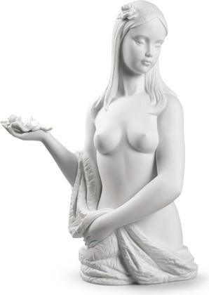 Статуэтка фарфоровая Невинность (Beautiful Bather) 36см NAO 02000527