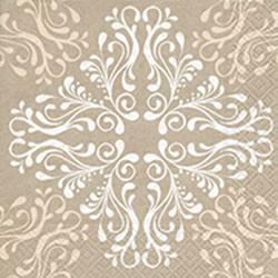 Салфетки для декупажа Узор 33x33см, 3 слоя, 20шт Paper+Design 21885