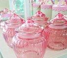 Конфетница стеклянная Пинк Retro, 14см Creative Tops 5131021