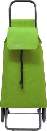 Сумка-тележка хозяйственная зелёный лайм Rolser RG SAQUET SAQ002lima