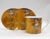 Набор для завтрака Импрессионисты Климт Золотая Адель 200мл The Leonardo Collection LP92688