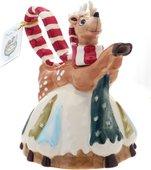 """Чайник заварочный """"Рождественский Олень"""", 22х20х16см Blue Sky LX-BL1757"""