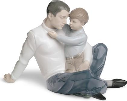 Статуэтка фарфоровая Любить и защищать (To Love and Protect) 17см NAO 02001622