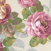 Салфетки для декупажа Море цветов, 33x33см, 3 слоя, 20шт Paper+Design 21881
