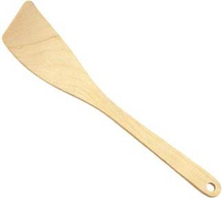 Лопатка деревянная изогнутая, 30см