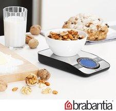 Компактные и точные цифровые весы Brabantia