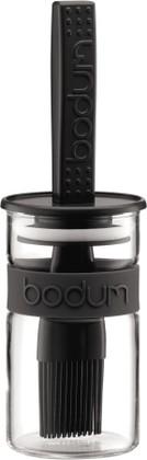Ёмкость для соуса с кисточкой 0.25л, чёрная Bodum BISTRO 11203-01