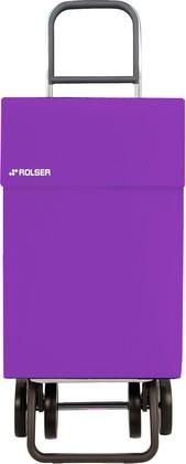 Сумка-тележка хозяйственная фиолетовая Rolser DOS+2 JEAN JEA006malva