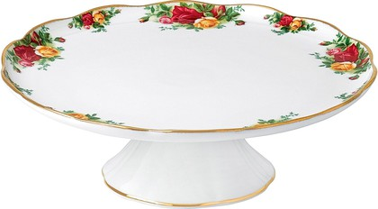 Тарелка для торта Розы Старой Англии Royal Albert 40001854