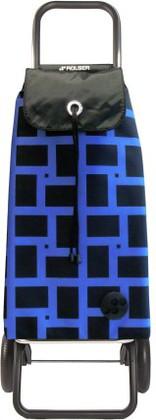 Сумка-тележка хозяйственная синяя ROLSER Convert RG IMX025azul