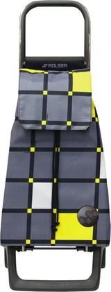 Сумка-тележка хозяйственная серая ROLSER Joy-1800 BAB009marengo
