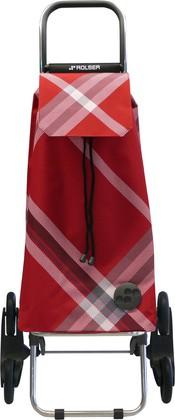 Сумка-тележка хозяйственная красная Rolser RD6 MOUNTAIN MOU075rojo