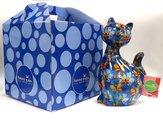 Копилка Кошка CARAMEL синяя Pomme-Pidou 148-00029/2