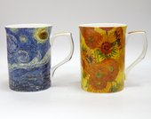 Набор кружек Импрессионисты Ван Гог, 2шт 300мл The Leonardo Collection LP92364