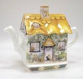 Чайник Коттедж с розами James Sadler COUSROS1