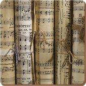Подставки на пробке Музыкальные ноты 29х29см, 4шт Creative Tops 5162906