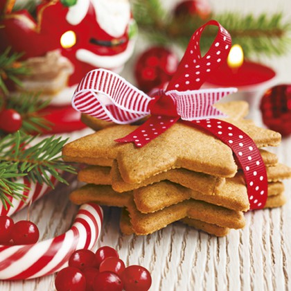 Салфетки для декупажа Новогодние сладости 33x33см, 3 слоя, 20шт Paw SDL056100
