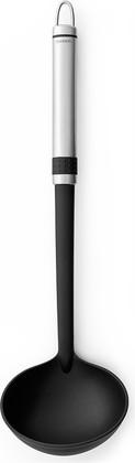 Ложка разливная большая, матовая сталь / чёрный Brabantia Profile 363603