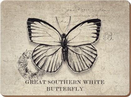 """Подставки на пробке """"Бабочки и пчелы"""" 29x22см, 6шт Creative Tops 5138288"""