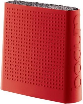 Подставка для ножей, Bistro, красная, 11089-294