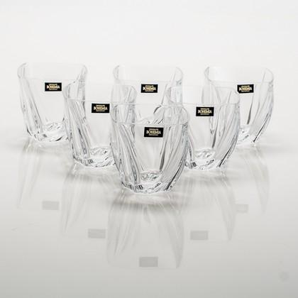 Стаканы для виски Нептун 300мл, 6шт Crystalite Bohemia 2KD85/0/99S39/300