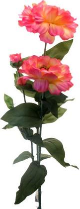 Цветок искусственный Циния темно-розовая 80см Top Art Studio E2206B-5