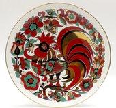 Тарелка декоративная Петушок, 195мм, ф. Эллипс ИФЗ 80.51653.00.1