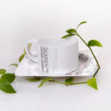"""Сервиз чайный """"Каррэ"""", 6 персон, 12 предм. Top Art Studio LD1943-TA"""