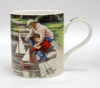 Кружка Мужское xобби Отец и сын 400мл The Leonardo Collection LP33042