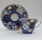 Чашка с блюдцем Перезвоны 1, ф. Лучистая ИФЗ 81.13809.00.1