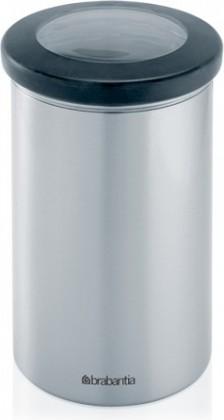 Контейнер с прозрачной крышкой 1.2л матовая сталь Brabantia 390968