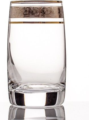 Фужеры 6шт Идеал 250мл вода Crystalite Bohemia 25015/250/43249K