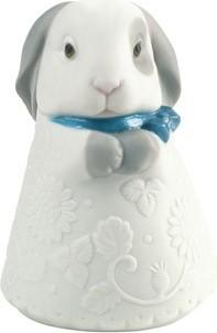 Статуэтка фарфоровая Кролик голубой (Little Bunny) 9см NAO 02005077