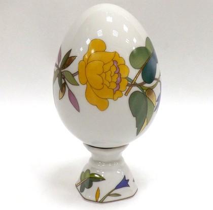 Яйцо пасхальное на подставке Пёстрый венок ИФЗ 80.80976.00.1