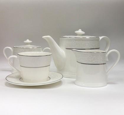 Сервиз чайный Шато де Валери, 6 персон, 15 пр. Top Art Studio LD1941-TA