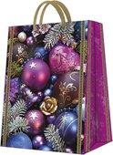"""Пакет подарочный """"Фиолетовая композиция"""" 30x41x12см Paw AGB021402"""