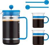 Набор кофейный 5 предм., цвет в ассортименте Bodum BISTRO AK1508-XY-70