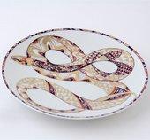 Тарелки декоративная Золотая скарапея, ф. Эллипс ИФЗ 80.74995.00.1